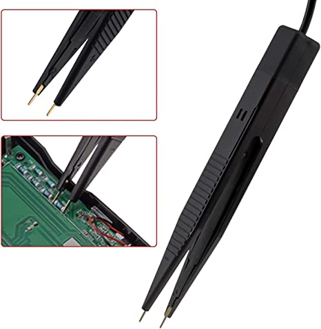 Nosii Smd Smt Chip Testclip Messspitzen Multimeter Pinzettenkondensator Widerstandsmessleitung Küche Haushalt