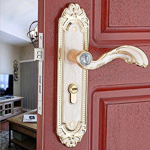 Baoblaze Aluminum Door Handle Sets Lever LATCH LOCK BEDROOM BATHROOMPRIVACY PACKS #2 by Baoblaze (Image #8)