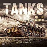 Tanks of the World 2020 12 x 12 Inch Monthly Square Wall Calendar, Military Vehicle Equipment