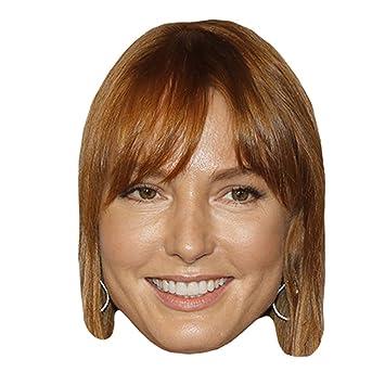 Alicia Witt Máscaras de personajes famosos, caras de carton