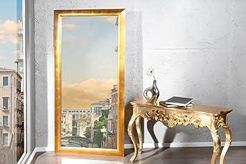 Dunord design wandspiegel standspiegel pure gold cm design