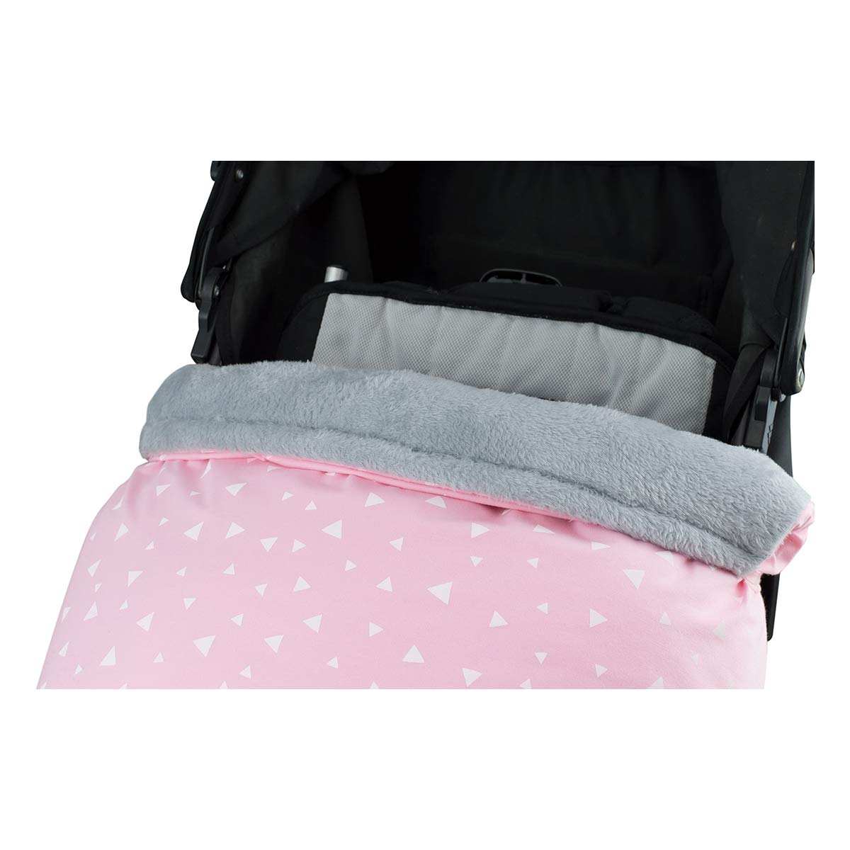 Janabeb/é Universal Winter Baby Blanket Footmuff for Pushchairs RACCOON, POLAR FLEECE