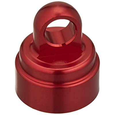 Traxxas 3767X Red-Anodized Aluminum Shock Caps for Ultra Shocks (set of 4): Toys & Games