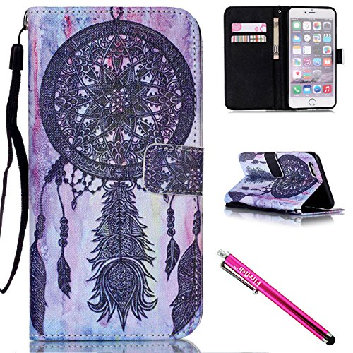 iPhone 5S Case, iPhone 5 Wallet Case, Firefish Kickstand Flip [Card Slots] (Card Ex Wallet)