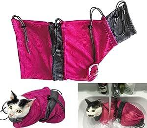 Alemon Cat Grooming Bag Cat Travel Carrier Pet Supplies