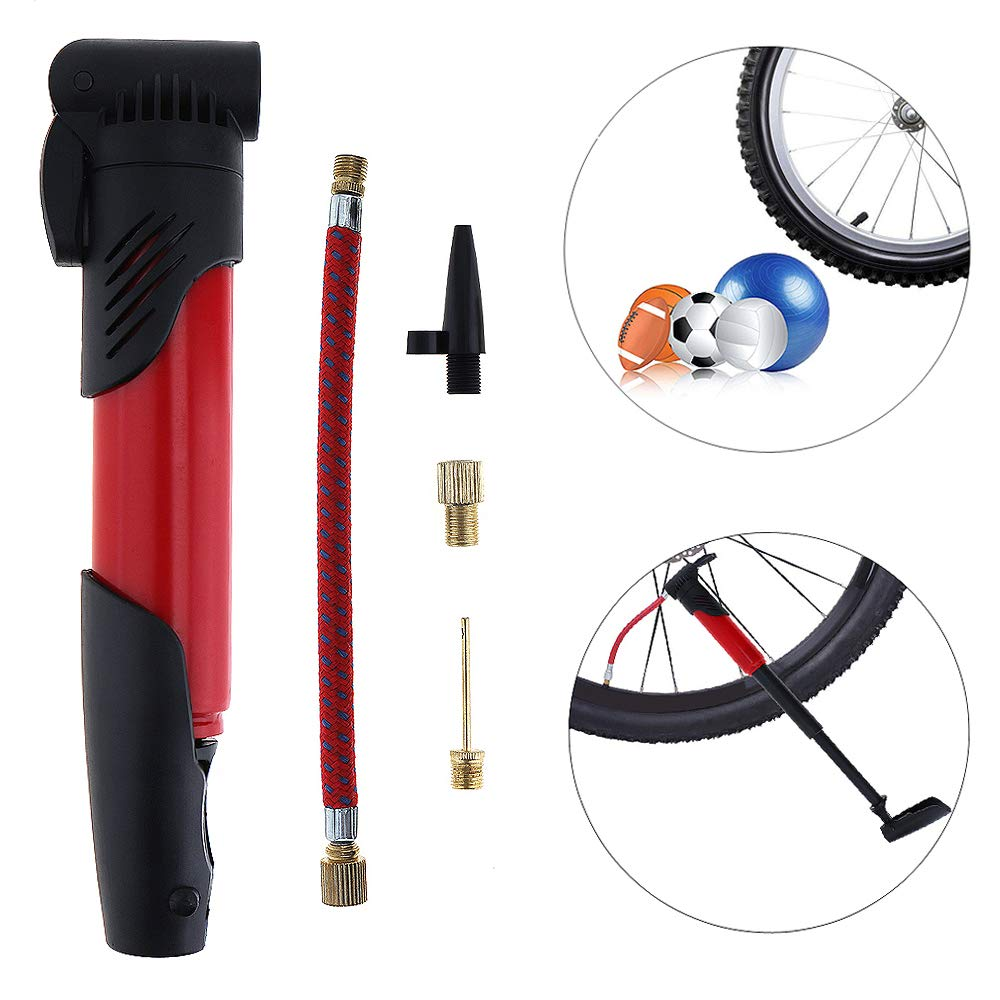 Mini Portable High-strength Bicycle Air Pump Bike Tire Inflator Super Light