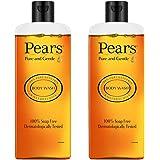 Pears Pure & Gentle Shower Gel, 250 ml (Pack of 2)