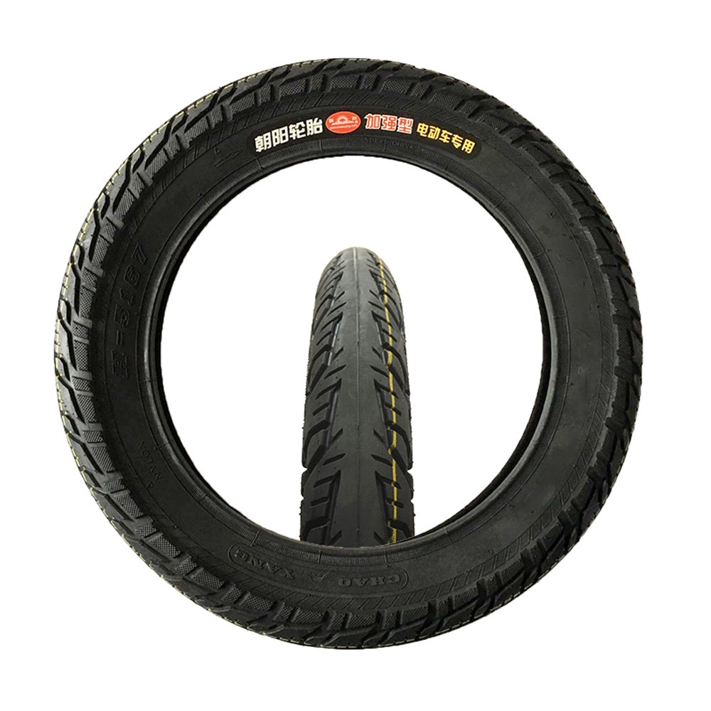 CHI YUAN Tire & Inner Tube 16'' X 2.125'' / 54-305 fits Many Gas Electric Scooters e-Bike