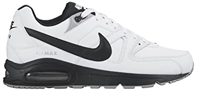 new arrival 03a24 1b93e Nike Air Max Command Leather, Chaussures de Running Homme, Blanco Negro Gris