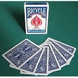 BICYCLE(バイスクル) ダブルバック 青 トリックカード マジック