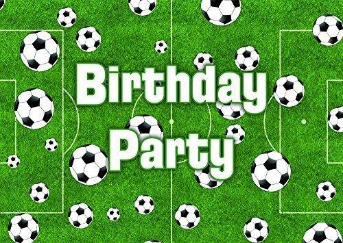 10 Fútbol tema fiesta de cumpleaños invitaciones invita a ...