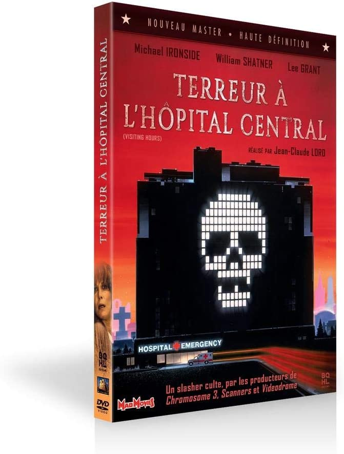Terreur A L Hopital Central Amazon Fr Michael Ironside Lee Grant William Shatner Jean Claude Lord Michael Ironside Lee Grant Dvd Blu Ray