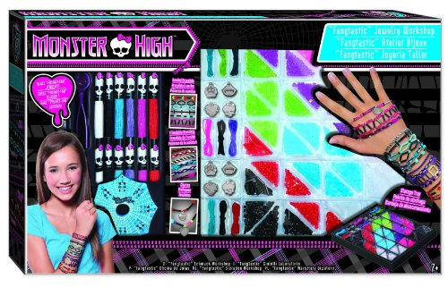 Fashion Angels Monster High Fangtastic Jewelry Workshop Bead Kit (Monster High Kit)