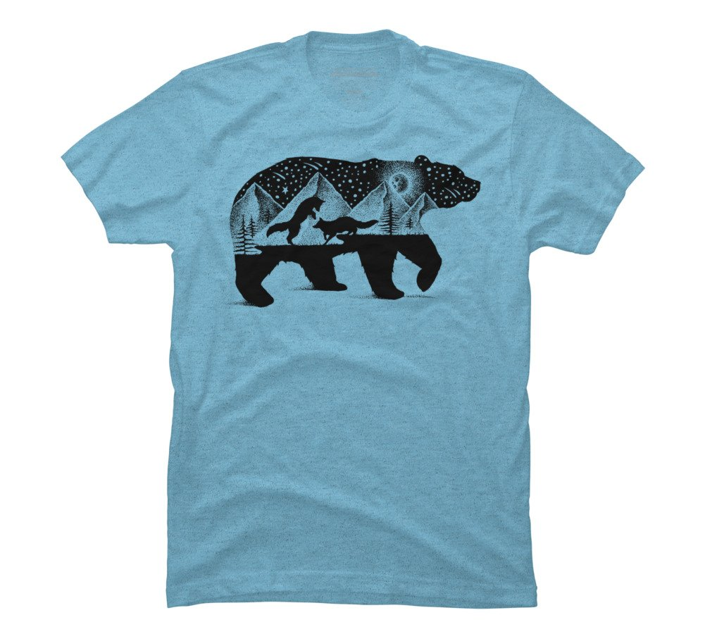 Bear And Foxes S Graphic T Shirt