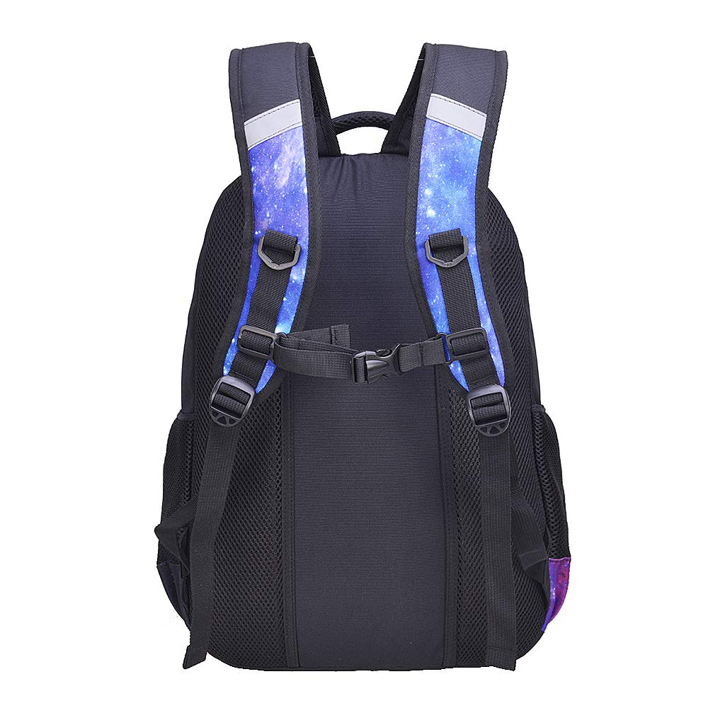Galaxy Backpack for Girls Kids Teens Fenrici 18 Elementary Middle High School College Supporting Kids with Rare Diseases FAITH, Medium