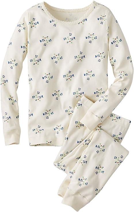 Hanna Andersson bebé niñas largo John pijama en algodón orgánico: Amazon.es: Ropa y accesorios