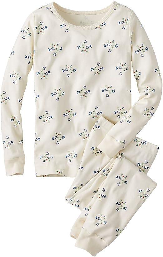 Hanna Andersson bebé niñas largo John pijama en algodón orgánico ...