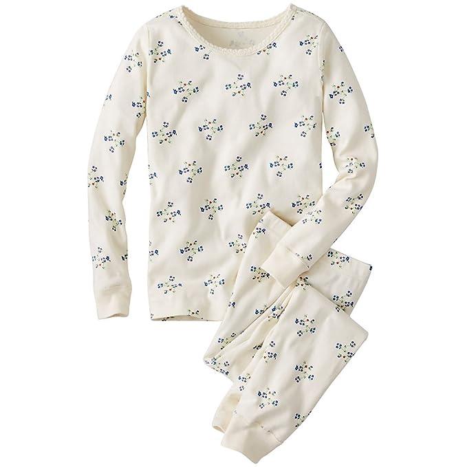 Hanna Andersson bebé niñas largo John pijama en algodón orgánico