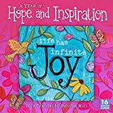 Book cover from 2019 A Year of Hope and Inspiration 16-Month Wall Calendar: by Sellers Publishing, 12 x 12; (CA-0417) by Deb Mori