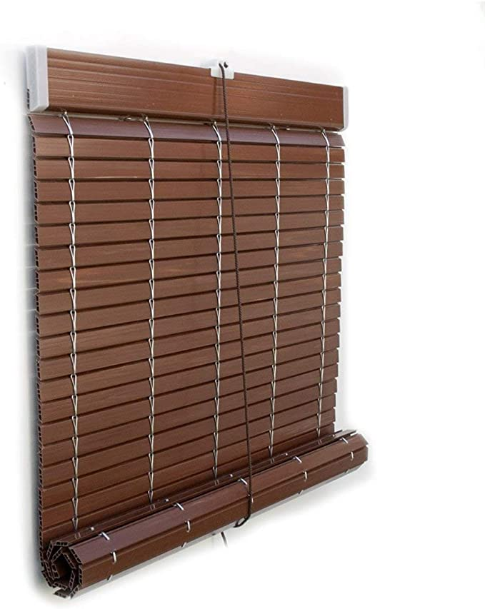 Jardin202 87 x 235 cm - Persiana PVC Nogal Oscuro: Amazon.es: Hogar
