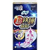 ソフィ 超熟睡ガード 400 10枚(くるっとテープつき)〔生理用ナプキン 夜用〕