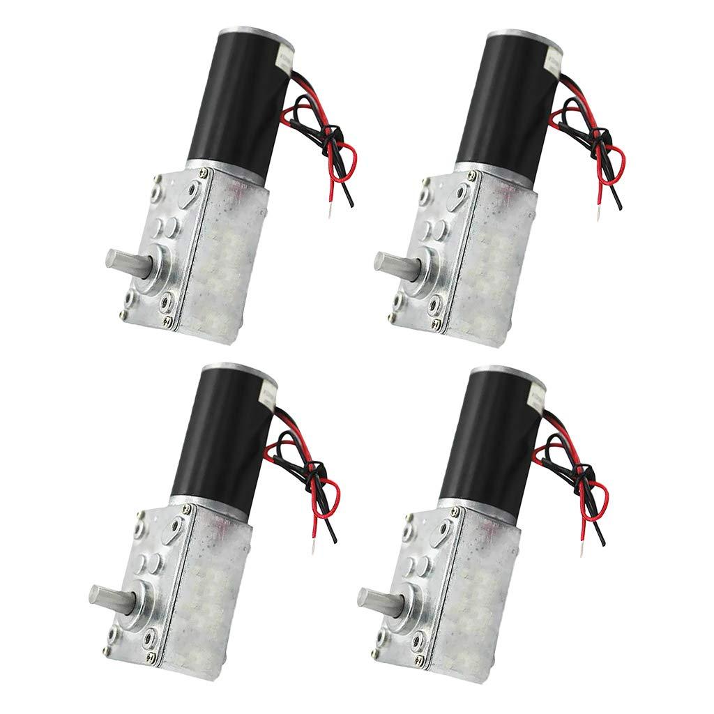 perfk 12V Kurzer Welle Drehmoment Getriebemotor Für Roboter Modell, DIY Engine Spielzeug