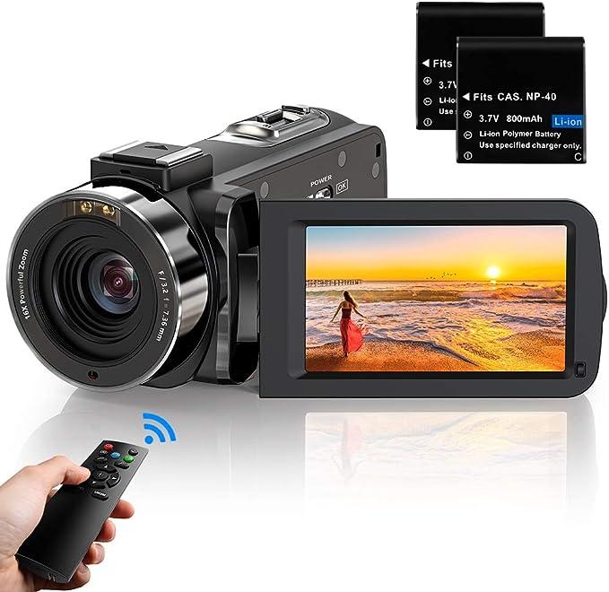 おすすめリモコン付きビデオカメラ5選|リモコン操作でズームができるのサムネイル画像