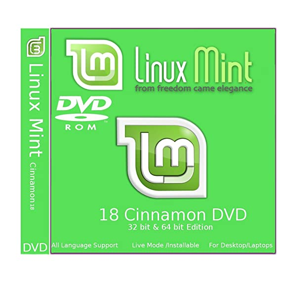 Linux Mint 18 Sarah Cinnamon (64 bit & 32..