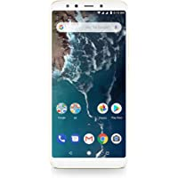Xiaomi Mi A2 64GB + 4GB RAM, Dual Camera, LTE Android One Smartphone - International Global Version (Gold)