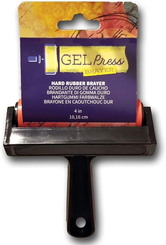Gel Press Brayer, Multicoloured, 4