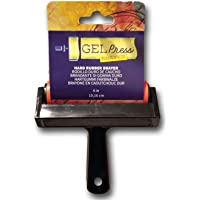 Gel Press Rubber Brayer, Multicolor, 10 cm