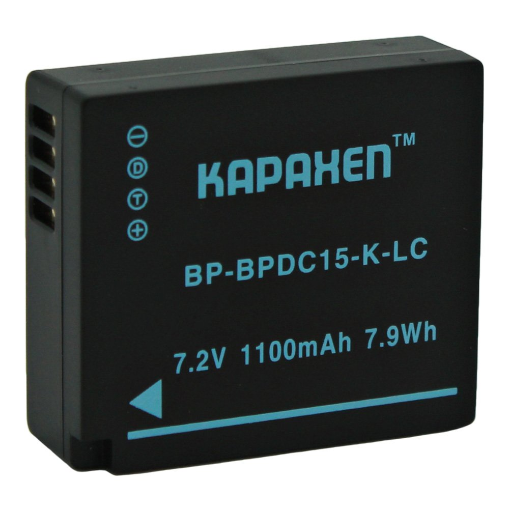 Kapaxen Two High Capacity BP-DC15 Batteries & Charger Kit for Leica D-Lux (Type 109) Cameras by KAPAXEN (Image #2)