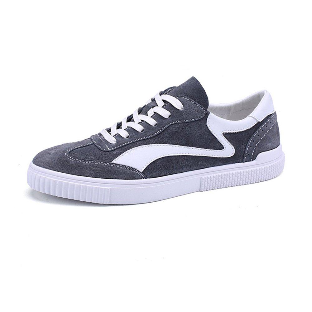 YIXINY Deporte Zapato LAB-751 Zapatos De Lona Hombre Tendencia Zapatos De Tela Zapatos De Placas Zapatos Casuales 3 Colores Disponibles ( Color : Gris , Tamaño : EU40/UK7/CN41 ) EU40/UK7/CN41 Gris