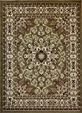 Generations Oriental Traditional Isfahan Persian Area Rug, 2' x 3', Sage Green