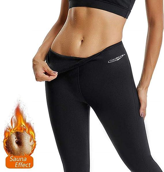 Pantalones Cortos Suana Mujer Pantalones Neopreno Deportivo Yoga Leggings Cintura Alta Para Sudoracion Quema Grasa Adelgazante Ropa Yoga Y Pilates