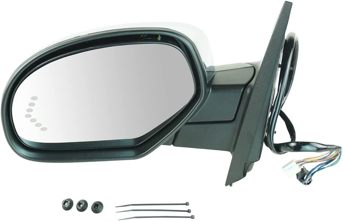 Power Folding Turn Signal Heated Side View Mirror Driver Left LH for Chevy GMC