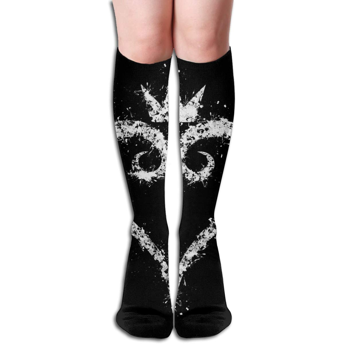 Kingdom Hearts Unisex Compression Socks Athletic Tube Stockings Sport Long Socks One Size