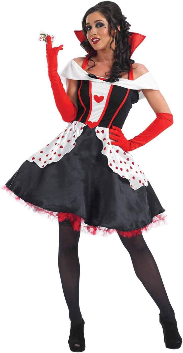 Fun Shack Roja Reina De Corazones Disfraz para Mujeres - S: Funshack: Amazon.es: Juguetes y juegos