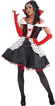 Fun Shack Roja Reina De Corazones Disfraz para Mujeres - XXL ...