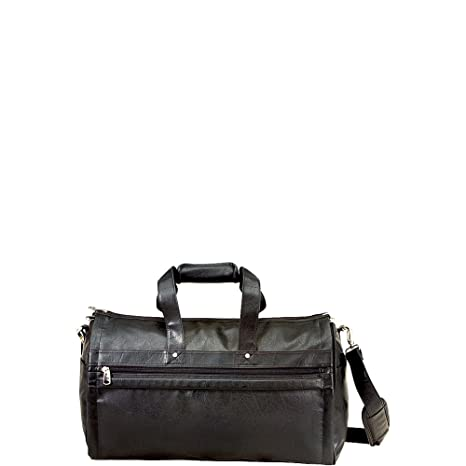 098ac73c2a U.S. Traveler Koskin Leather 2-in-1 Carry-On Garment Duffel Bag (Black)   Amazon.ca  Luggage   Bags