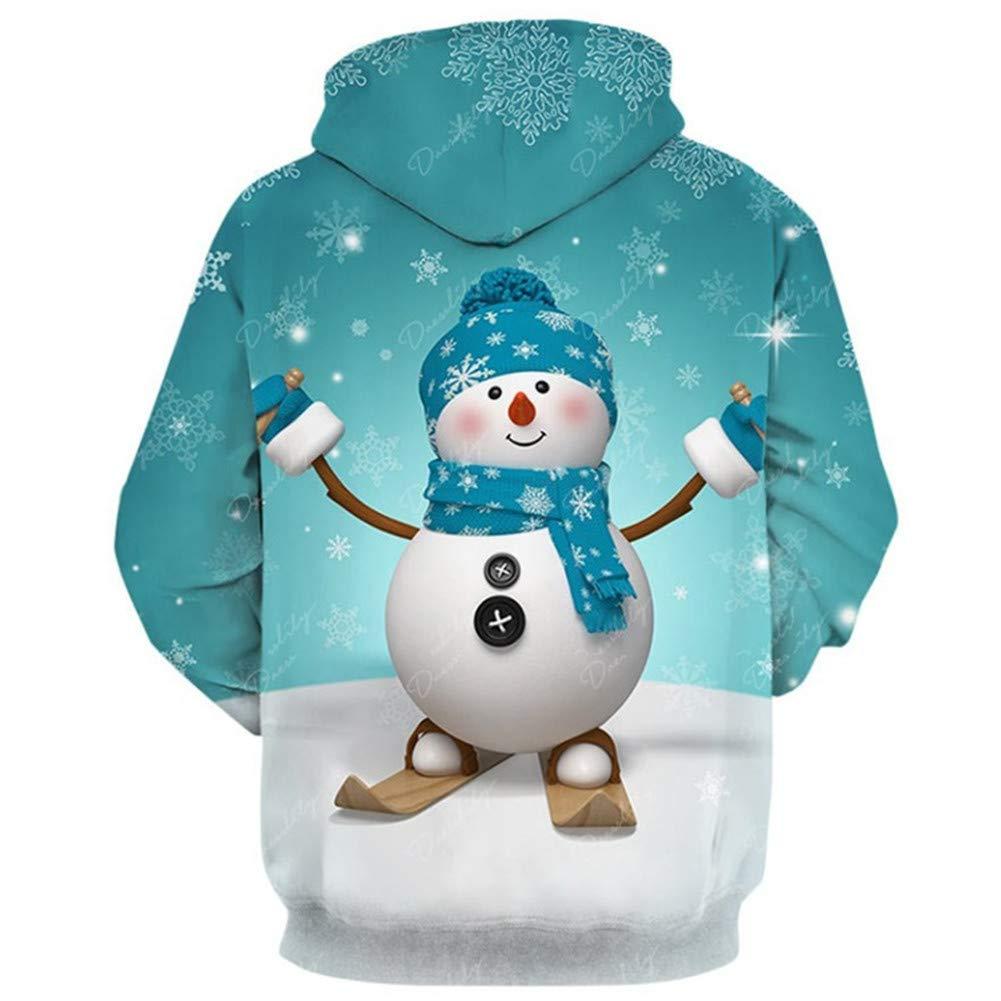 Morbuy Sudaderas con Capucha Impresas 3D Unisex con Bolsillos, Creativo Hombre Mujer Ocio Manga Larga Hoodies Pullover Moda Tops Deportes Sweatshirt: ...