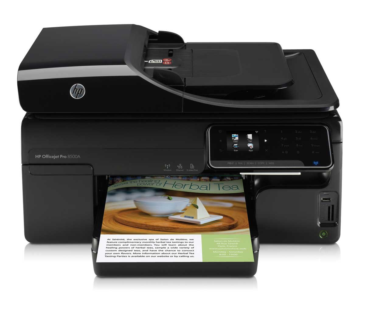 HP Officejet PRO 8500 A Multifunctional Printer: Amazon.co.uk: Computers &  Accessories