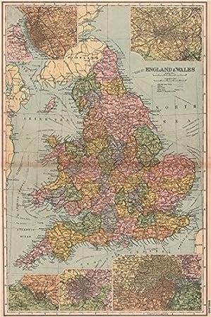 Birmingham Karte.England Wales Liverpool Manchester Bristol Birmingham