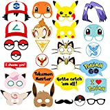 Pokemon Party Supplies - Photo Booth Props Suitable Review and Comparison