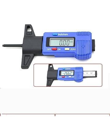 Plastique,LTC-01 Noir Larcele Jauges de Profondeur de Pneus de Numerical 0-25.4mm pour Les Voitures