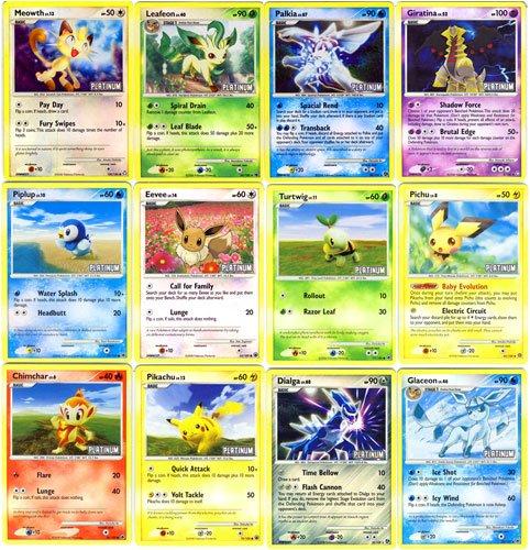 Nintendo Pokemon 2009 Burger King 12 Card Holo Foil Promo...