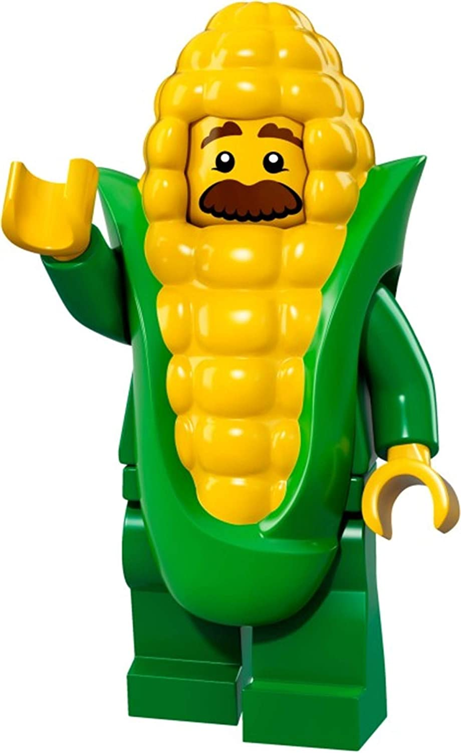 genuine lego minifigures the corn on the cob guy from  series 17