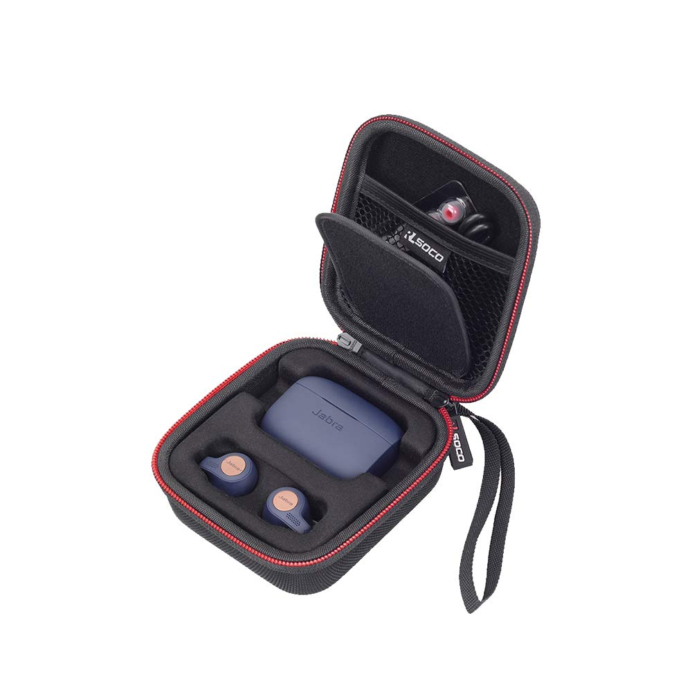 d8526f89e33 Amazon.com: RLSOCO Carrying Case Compatible for Jabra Elite Active 65t/Jabra  Elite 65t Alexa Enabled True Wireless Sports Earbuds: Home Audio & Theater