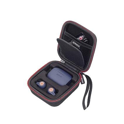 RLSOCO Carrying Case Compatible for Jabra Elite Active 65t/Jabra Elite 65t  Alexa Enabled True Wireless Sports Earbuds
