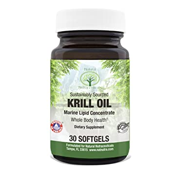 Amazoncom Krill Oil By Natural Nutra Sustainable Omega 3 With